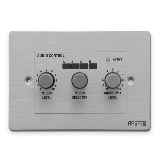 Панель управления APart PM1122R apart pm1122w беспроводная панель управления белого цвета для предусилителя pm1122