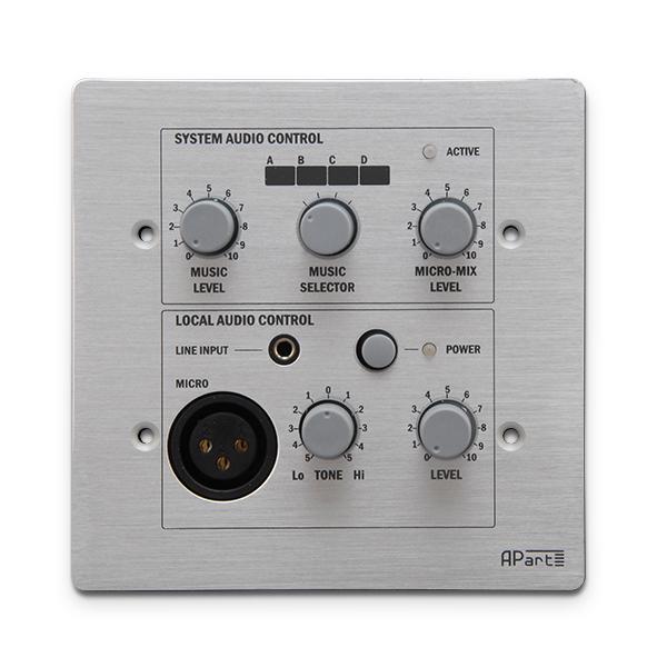 Панель управления APart PM1122RL apart pm1122w беспроводная панель управления белого цвета для предусилителя pm1122