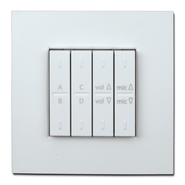 Купить Apart PM1122W-W Панель управления онлайн в Аудиомания Панели управле