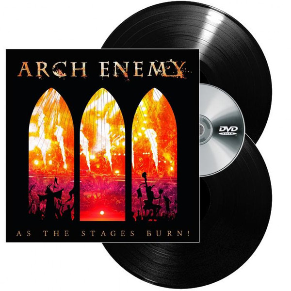ARCH ENEMY ARCH ENEMY - AS THE STAGES BURN! (2 LP+DVD) vitesse arch