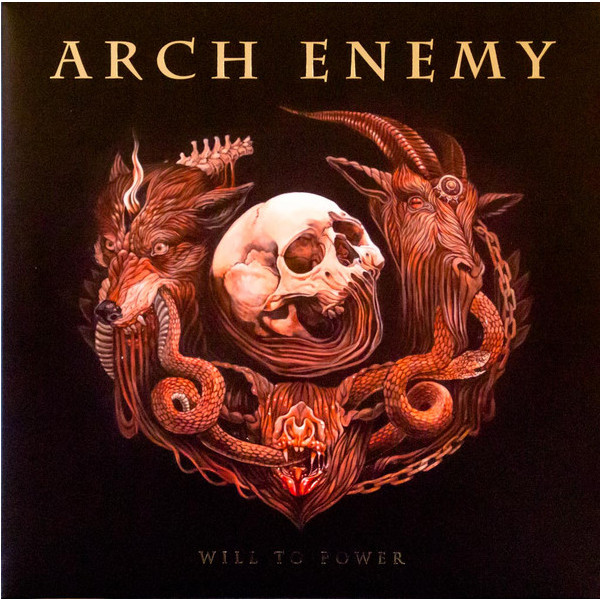 ARCH ENEMY ARCH ENEMY - WILL TO POWER (LP+CD) vitesse arch