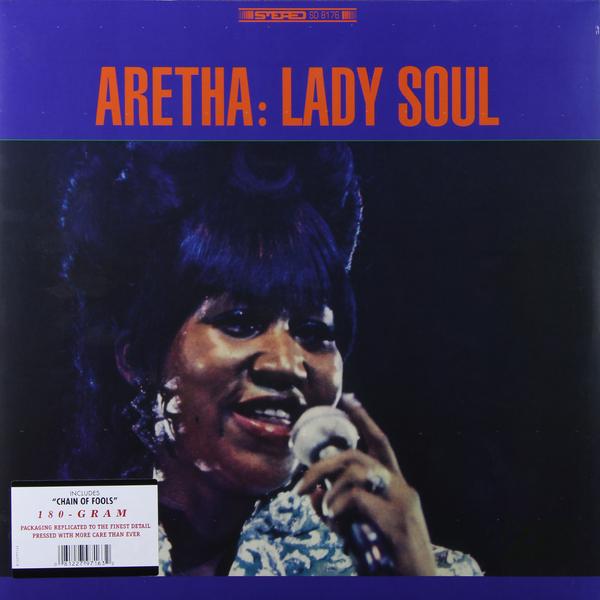 ARETHA FRANKLIN ARETHA FRANKLIN - LADY SOUL (180 GR)Виниловая пластинка<br><br>