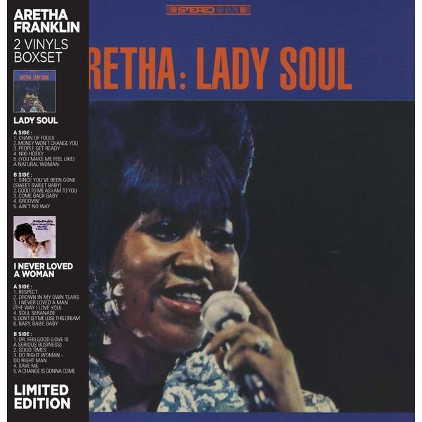 Aretha Franklin Aretha Franklin - Lady Soul / I Never Loved A Woman (2 LP) aretha franklin aretha franklin amazing grace 2 lp