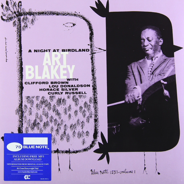 Art Blakey Art Blakey - A Night At Birdland Vol.1 (180 Gr)