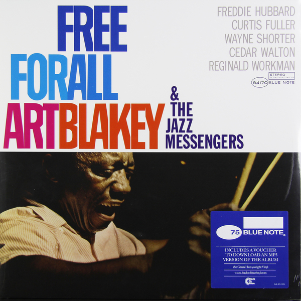 цены  ART BLAKEY ART BLAKEY - FREE FOR ALL (180 GR)