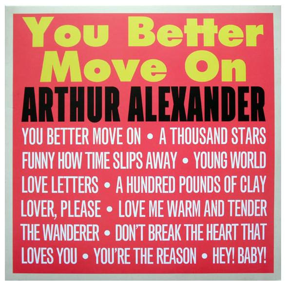 Arthur Alexander Arthur Alexander - You Better Move On (180 Gr) arthur