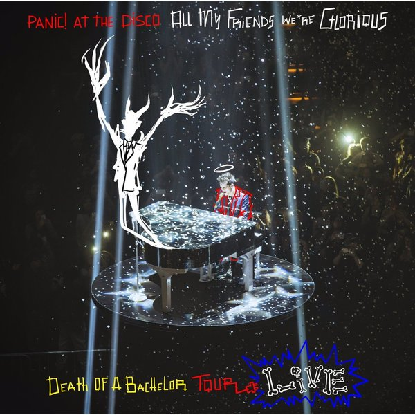 Panic! At The Disco Panic! At The Disco - All My Friends, We're Glorious: Death Of A Bachelor Tour Live (2 LP) mastodon mastodon live at the aragon 2 lp dvd