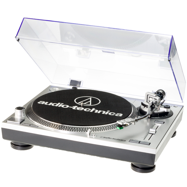 Виниловый проигрыватель Audio-Technica AT-LP120 USB HS Silver genius hs 300a silver
