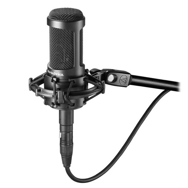 Студийный микрофон Audio-TechnicaСтудийный микрофон<br>Микрофон конденсаторный студийный<br>