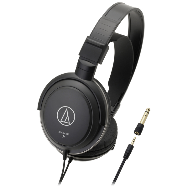 Охватывающие наушники Audio-Technica ATH-AVC200 Black наушники закрытого типа audio technica ath m50 x wh