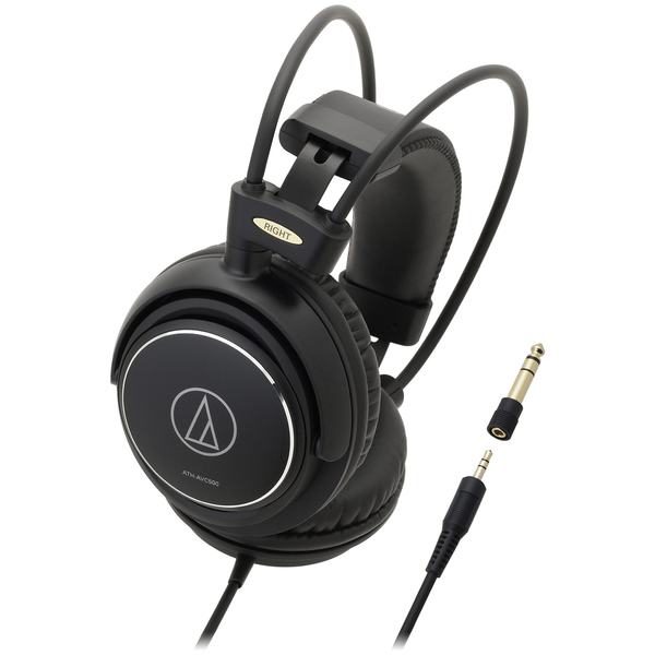 Охватывающие наушники Audio-Technica ATH-AVC500 Black audio technica ath ax5is black