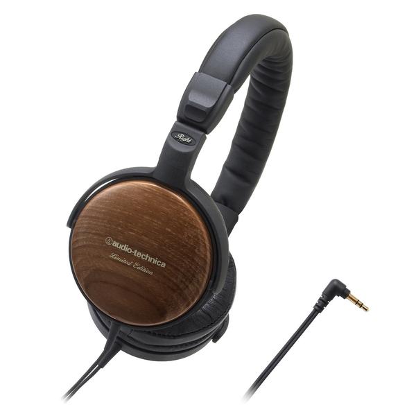 Накладные наушники Audio-Technica ATH-ESW9LTD Wood изображение