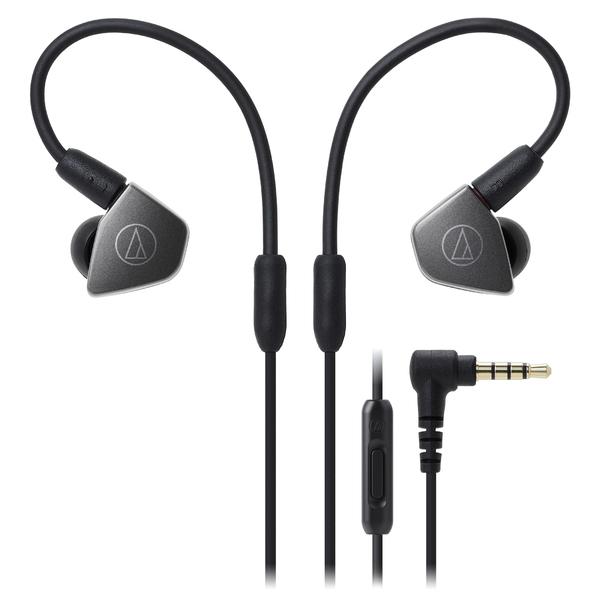 Внутриканальные наушники Audio-Technica ATH-LS70iS Silver вставные наушники audio technica ath ckb50 черный купон код jd1601 сумма покупок от 50$ скидка 5$ от 100$ скидка 10$
