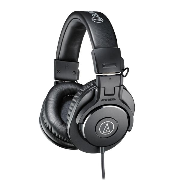 Охватывающие наушники Audio-Technica ATH-M30X Black audio technica ath a550z полноразмерные наушники matte black