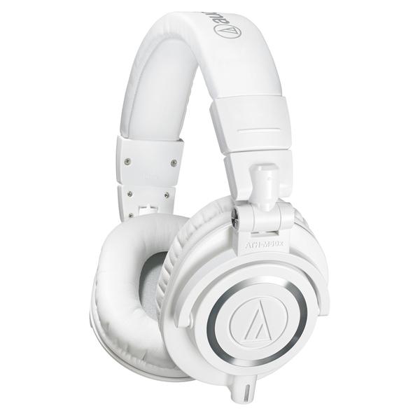 все цены на  Охватывающие наушники Audio-Technica ATH-M50x White  онлайн