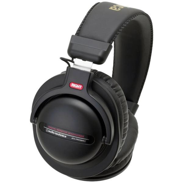 Охватывающие наушники Audio-Technica ATH-PRO5MK3 Black audio technica ath a550z полноразмерные наушники matte black
