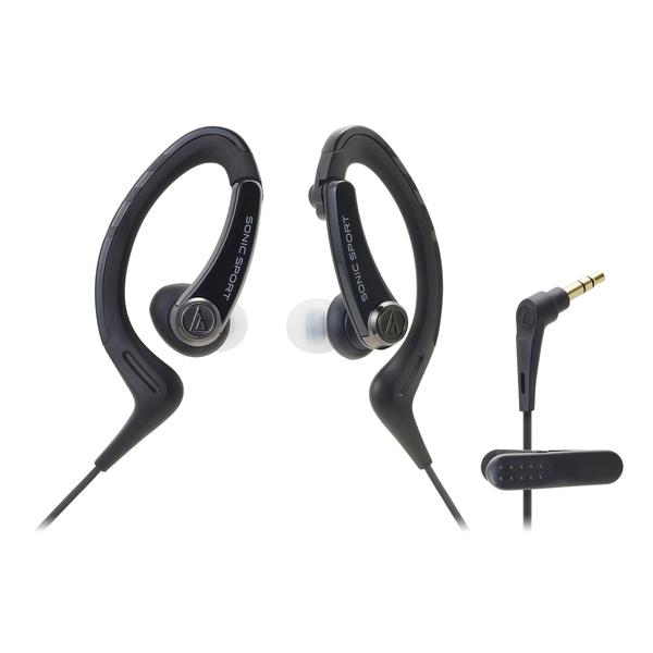 Внутриканальные наушники Audio-Technica ATH-SPORT1 Black