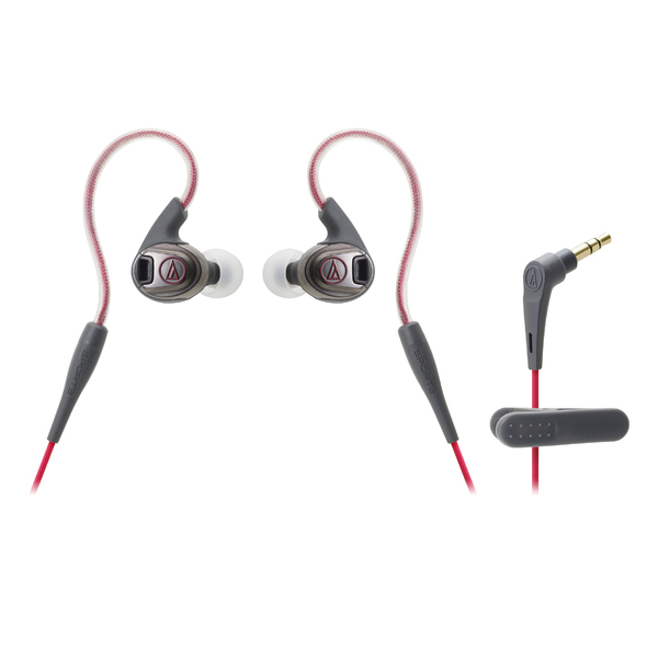 Внутриканальные наушники Audio-Technica ATH-SPORT3 Red