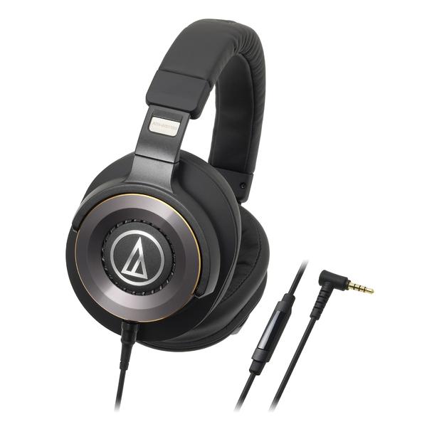 Охватывающие наушники Audio-Technica ATH-WS1100iS Black audio technica ath a550z полноразмерные наушники matte black