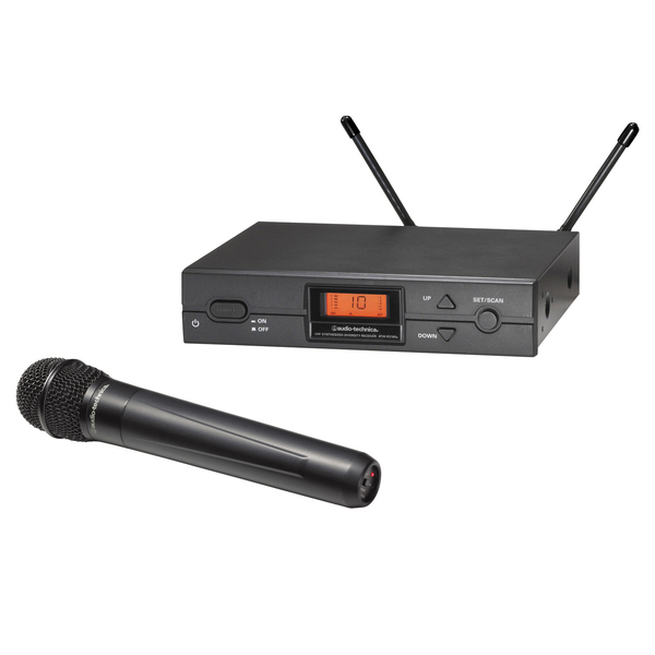 Радиосистема Audio-TechnicaРадиосистема<br>Радиосистема с ручным передатчиком<br>