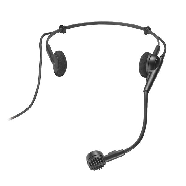 Головной микрофон Audio-TechnicaГоловной микрофон<br>Головной динамический гиперкардиоидный микрофон Hi-ENERGY®, 200Гц-18кГц, 1,7 mV/Pa,<br>