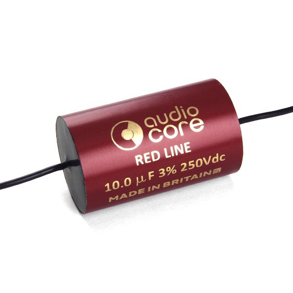 Конденсатор Audiocore Red-Line 250 VDC 10 uF конденсатор audiocore red line 250 vdc 15 uf