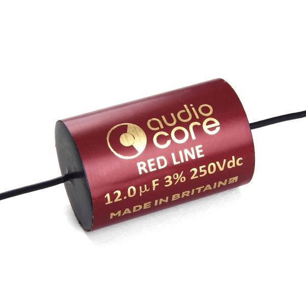 Конденсатор Audiocore Red-Line 250 VDC 12 uF конденсатор audiocore red line 250 vdc 15 uf