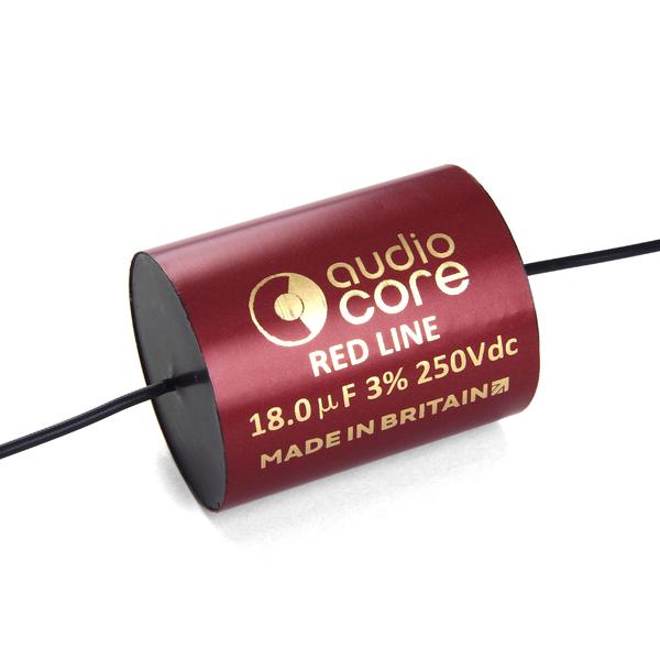 Конденсатор Audiocore Red-Line 250 VDC 18 uF конденсатор audiocore red line 250 vdc 15 uf