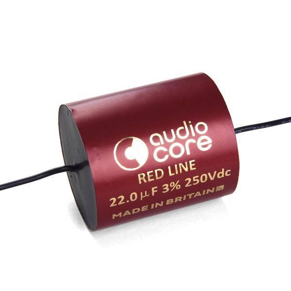 Конденсатор Audiocore Red-Line 250 VDC 22 uF конденсатор audiocore red line 250 vdc 15 uf