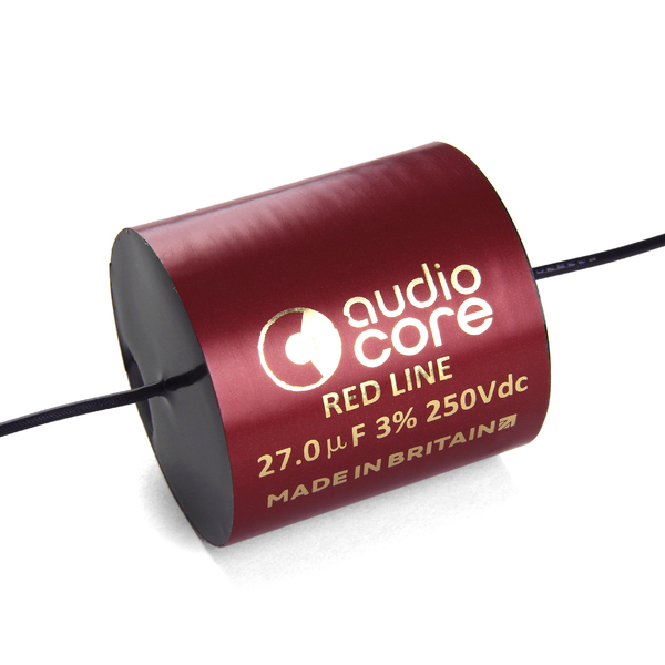 Конденсатор Audiocore Red-Line 250 VDC 27 uF конденсатор audiocore red line 250 vdc 15 uf