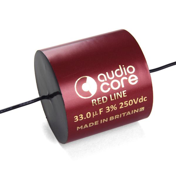 Конденсатор Audiocore Red-Line 250 VDC 33 uF конденсатор audiocore red line 250 vdc 15 uf
