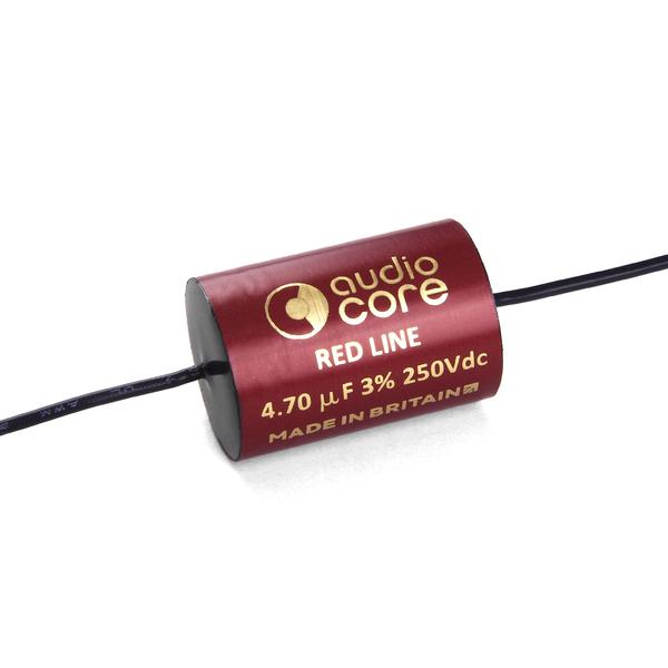 Конденсатор Audiocore Red-Line 250 VDC 4.7 uF конденсатор audiocore red line 250 vdc 15 uf