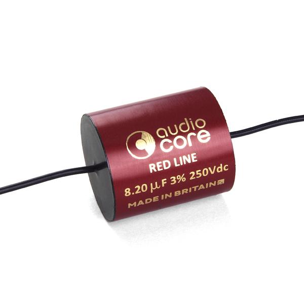 Конденсатор Audiocore Red-Line 250 VDC 8.2 uF конденсатор audiocore red line 250 vdc 15 uf