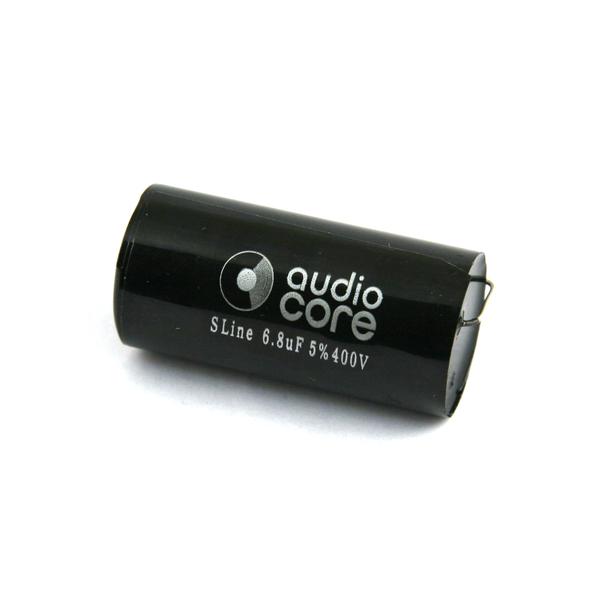 Конденсатор Audiocore S-Line 400 VDC 6.8 uF конденсатор audiocore red line 250 vdc 15 uf