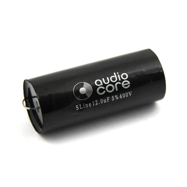 Конденсатор Audiocore S-Line 400 VDC 12 uF конденсатор audiocore red line 250 vdc 15 uf