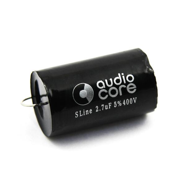 Конденсатор Audiocore S-Line 400 VDC 2.7 uF конденсатор audiocore red line 250 vdc 15 uf