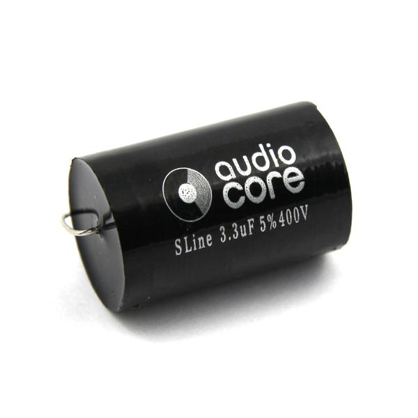 Конденсатор Audiocore S-Line 400 VDC 3.3 uF конденсатор audiocore red line 250 vdc 15 uf
