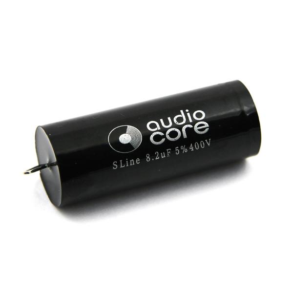 Конденсатор Audiocore S-Line 400 VDC 8.2 uF конденсатор audiocore red line 250 vdc 15 uf