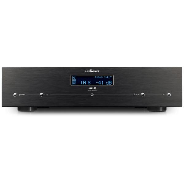 ��������������� Audionet - Audionet���������������<br>������������ ��������� ����������� �������� ���� � ����������������� �����������, �������� 2 � 110 �� (8 ��), �������� ������ 0 �� - 500 ���, �����: 5 RCA, XLR, �������� 430x110�360 ��, ��� 14,5 ��.<br>