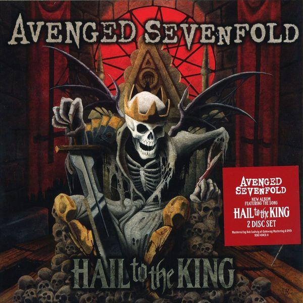 AVENGED SEVENFOLD AVENGED SEVENFOLD - HAIL TO THE KING (2 LP, 180 GR) soundgarden soundgarden king animal 2 lp 180 gr