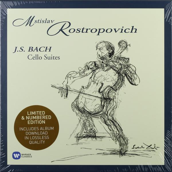 BACH BACH - Cello Suites (4 LP) phil collins singles 4 lp