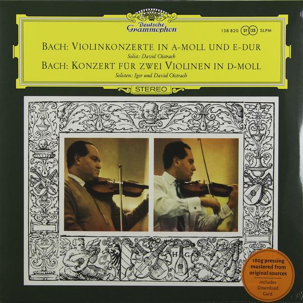 BACH BACH - Violin Concertos  Nos.1   2 (180 Gr) various sibelius goldmark violin concertos