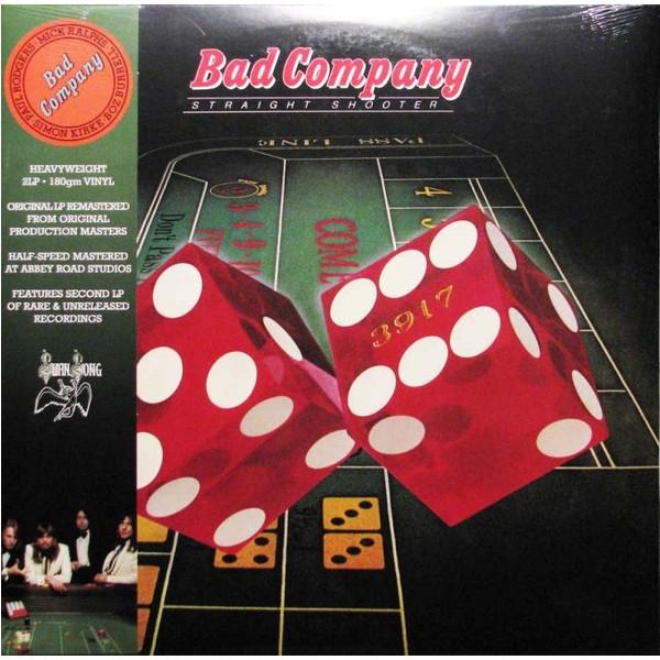 BAD COMPANY BAD COMPANY - STRAIGHT SHOOTER (2 LP)  недорого