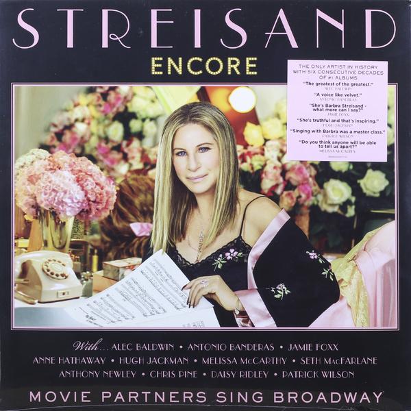 Barbra Streisand Barbra Streisand - Encore: Movie Partners Sing Broadway cd диск barbra streisand encore movie partners sing broadway 1 cd