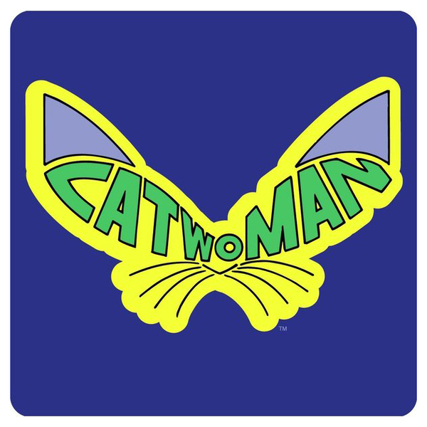 Подставка Batman - CatwomanПодставка<br>Подставка на пробковой основе, размер 10 х 10 см.<br>