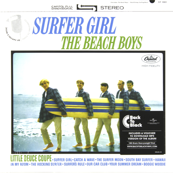 BEACH BOYS BEACH BOYS - SURFER GIRL