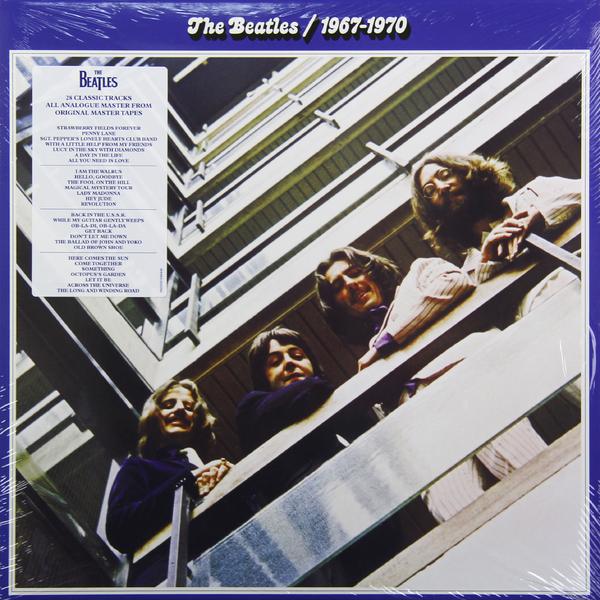 Beatles Beatles - 1967-1970 (2 LP) beatles beatles anthology 3 3 lp