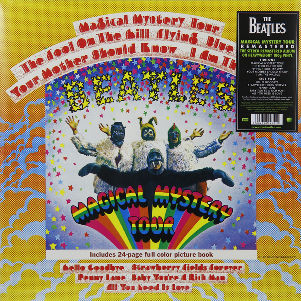 beatles beatles magical mystery tour mono Beatles Beatles - Magical Mystery Tour (180 Gr)
