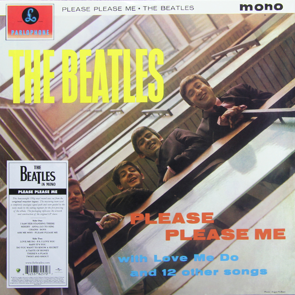 цена  BEATLES BEATLES - PLEASE PLEASE ME (MONO)  онлайн в 2017 году