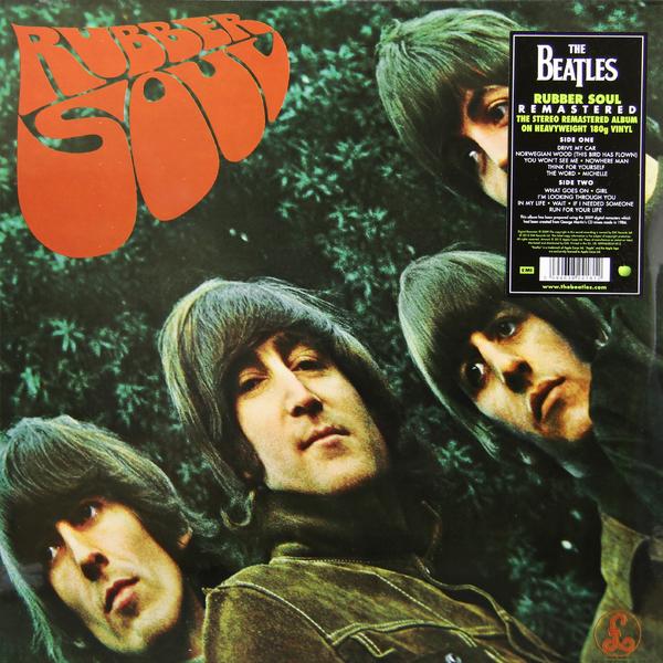 Beatles Beatles - Rubber Soul (180 Gr) guano apes guano apes proud like a god 180 gr colour